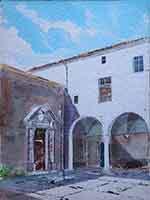 Quadro di Danilo Barachini  Convento del Fegino