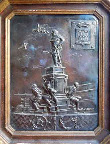 Art work by  Anonimo Monumento ai quattro Mori Livorno - sculpture bronze