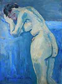 Quadro di Edgardo Corbelli   Nudo