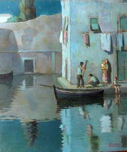 Quadro di  Landozzi Marina  - Pittori contemporanei galleria Firenze Art