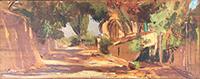 Quadro di Aldo Mazzi  Paesaggio