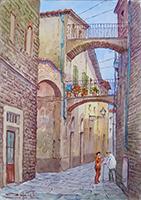 Quadro di Giovanni Ospitali  Pistoia Medioevale