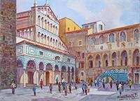 Quadro di Giovanni Ospitali  Duomo di Pistoia