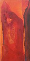 Work of Berenice  Unikowsky - E qual è a cor do teu orgasno? oil canvas