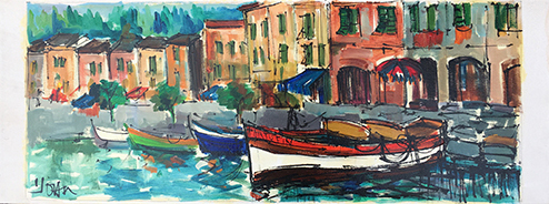 Quadro di  Joan Marina  - Pittori contemporanei galleria Firenze Art