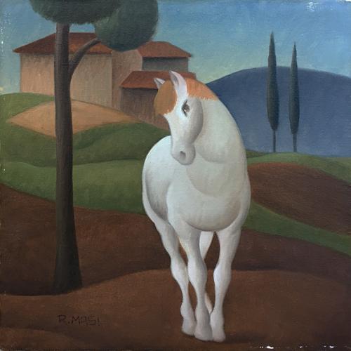Roberto Masi - Cavallo bianco