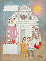 Work of Adorno Bonciani  Cocomeraia a Santa Maria Novella - Firenze