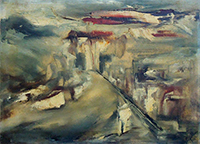 Quadro di Giampietro Cipollini - Paesaggio olio tela