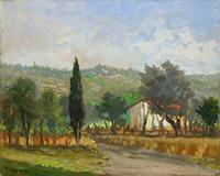Quadro di Fausto Magni  Paesaggio