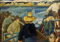 Quadro di Beppe Serafini  I pescatori