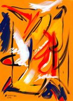 Quadro di Giuseppe Ciccia - Lettera da Shanghai tempera tela
