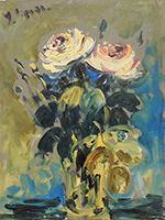 Quadro di Emanuele Cappello  Vaso con rose