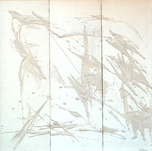 Quadro di Giuseppe Ciccia Golgota - mista tela