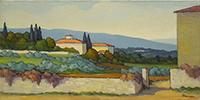 Quadro di Renato Cappelli (Renca)  Paesaggio