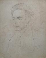 Quadro di Mariano Ilardi - Autoritratto lapis carta