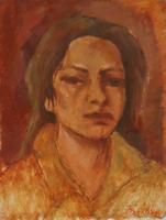 Quadro di Mariano Ilardi - Ritratto olio faesite