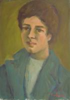 Quadro di Mariano Ilardi - Ritratto olio tela