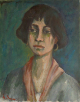 Quadro di Mariano Ilardi - Elena la greca olio tela