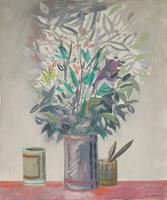 Quadro di Gaetano D'Amico  Vaso di fiori