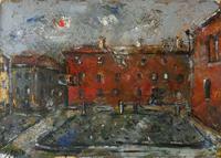 Quadro di Emanuele Cappello  Palazzo Rosso a Ferrara