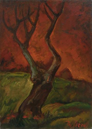 Art work by Mariano Ilardi Inverno - oil canvas