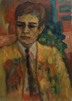 Quadro di Mariano Ilardi - Autoritratto olio tela