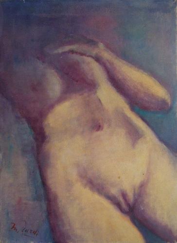 Quadro di Mariano Ilardi Studio di nudo - olio tela
