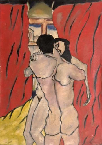 Quadro di Aldo Nava Nudi - Pittori contemporanei galleria Firenze Art