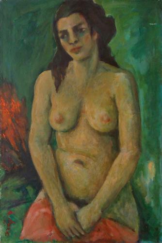 Quadro di Mariano Ilardi Nudo - Pittori contemporanei galleria Firenze Art