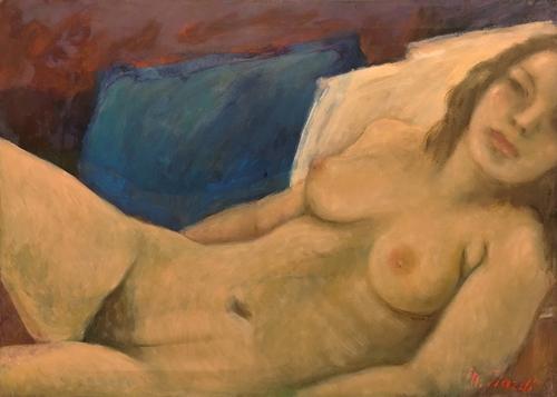 Quadro di Mariano Ilardi Nudo - olio tela
