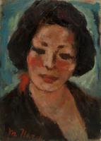 Quadro di Mariano Ilardi - Bozzetto per ritratto olio cartone telato
