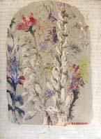 Quadro di Alfredo Nannoni - Fiori olio carta su tela