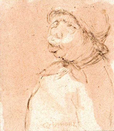 Quadro di Nino Tirinnanzi Piccolo ritratto - lapis carta