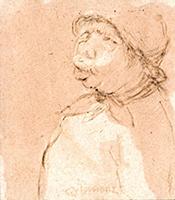 Quadro di Nino Tirinnanzi  Piccolo ritratto