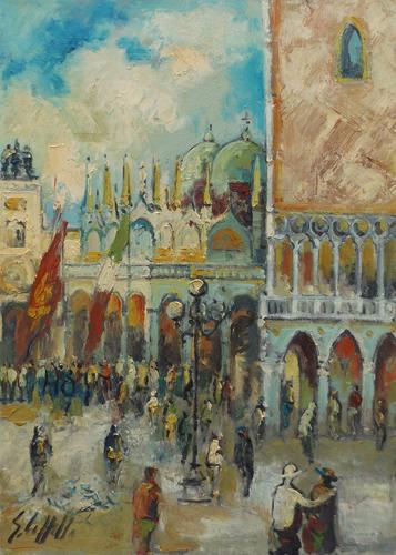 Emanuele Cappello - Piazza San Marco a Venezia