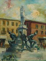 Quadro di Emanuele Cappello  Monumento dei Quattro Mori a Livorno