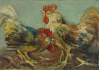 Work of Emanuele Cappello  Battaglia di galli