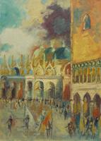 Work of Emanuele Cappello  Piazza San Marco a Venezia