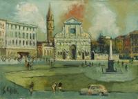Work of Emanuele Cappello  Piazza Santa Maria Novella