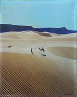 Quadro di A. Tacchi  Deserto