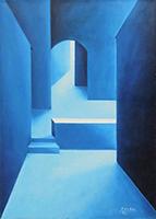 Quadro di F. Sordi  Architettura blu
