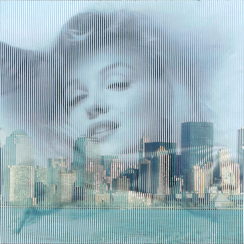 Quadro di Malipiero  ( Piero Maffessoli)  Osmosi - Marilyn Monroe - New York - Pittori contemporanei galleria Firenze Art