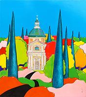 Quadro di Luca Albizi - Appena alzato olio tavola