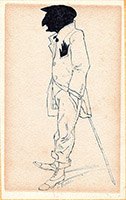 Work of  Toppi - Figura  china paper