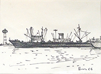 Quadro di  Hans  Marina
