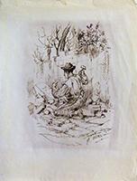 Work of  Venturini - Scalpellino china paper