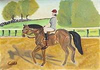 Cristalli - Fantino a cavallo