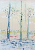 Work of Liù Venturi - Paesaggio da sogno oil canvas