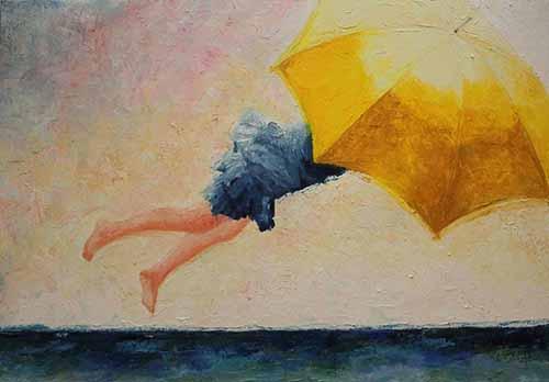 Gianna Bucelli - Volando sul mare