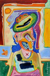 Mostra di pittura di Luciano Schifano